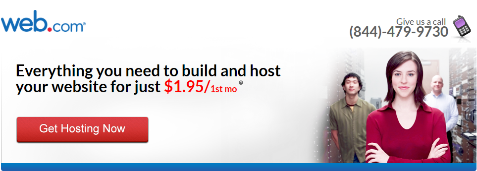 Web.com Price for Hosting
