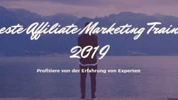 7 Beste Affiliate Marketing Trainings 2019 Titel deutsch