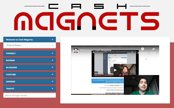What Is Cash Magnets CM dashboard